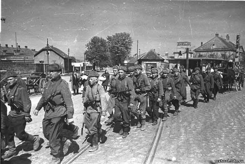 Архивные фото великой отечественной войны 1941-1945